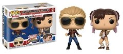 FUNKO POP CAPTAIN MARVEL vs CHUN-LI 2 PACK
