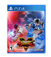 STREET FIGHTERS  V CHAMPIONS EDITION PS4