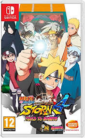 NARUTO SHIPPUDEN ULTIMATE NINJA 4 SWITCH