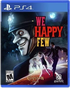 PS4 SLIM 500GB + WE HAPPY FEW - comprar online