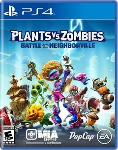 PLANTA VS ZOMBIES BATTLE FOR NEIGHBORVILLE PS4