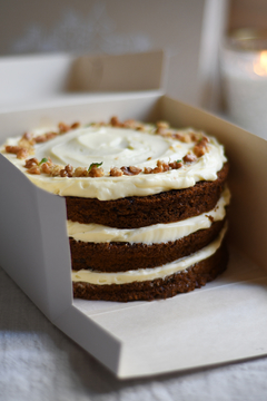 CARROT CAKE IN A BOX
