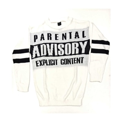 sweater parental advisory - comprar online