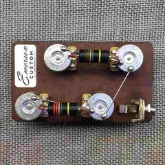 Emerson Custom Les Paul Short Shaft Circuit Precableado 500k