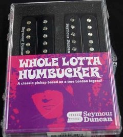 Seymour Duncan SH-18 Whole Lotta Humbucker Set Negro