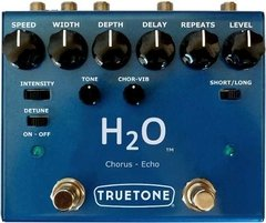 Truetone (Visual Sound) H2O V3 Delay Chorus Echo