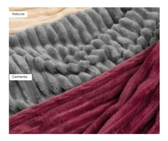 Imagen de Frazadas Abrigadas Flannel Fleece Palette Super King Soft