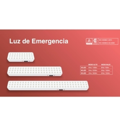 LUZ DE EMERGENCIA 30 LEDS MACROLED en internet