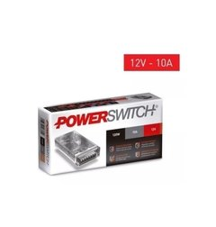 FUENTE SWITCHING 120W 10A DE 12V/220V PARA TIRAS LED POWERSWITCH en internet