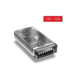 FUENTE SWITCHING 120W 10A DE 12V/220V PARA TIRAS LED POWERSWITCH - comprar online