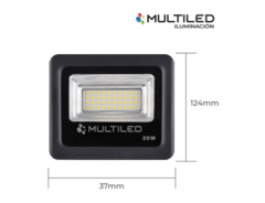 REFLECTOR LED 20W MULTILED - comprar online
