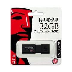 Pen Drive Kingston Datatraveler DT100G3 32GB USB 3.0 (PDRIKINGDT10032)