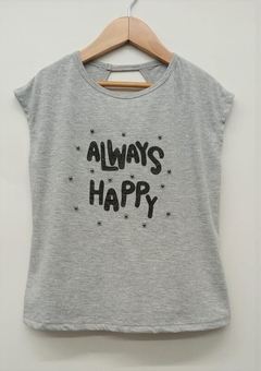 Remera JS Always Happy (9063) - comprar online