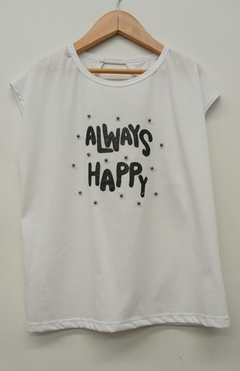 Remera JS Always Happy (9063)