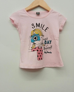 Remera Smile (BIG31)