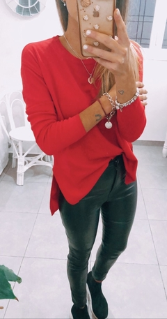 SWEATER BASICO - Rojo