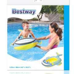 Bote inflable forma pez