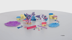 Juego de masas Play-doh My Little Pony Twilight Sparkle Rarity art B9717 - comprar online