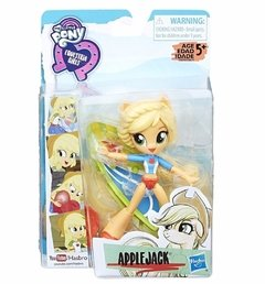 Muñeca Applejack Mini Equestria Girls playa My Little Pony