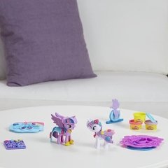 Juego de masas Play-doh My Little Pony Twilight Sparkle Rarity art B9717 en internet