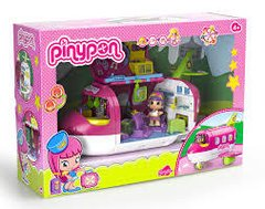 Pinypon  Set Avion c/ figuras y accesorios mix is max