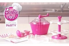 Barbie Set Glam Cupcake Party