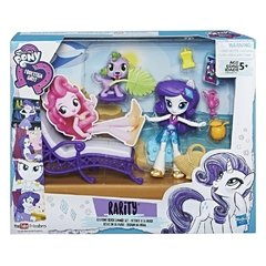 Escenario My Little Pony Rarity/ Relax en la playa - comprar online