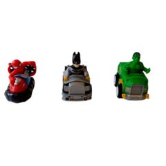 Pack X3 Vehiculos Avengers Hulk, Spiderman y Batman Alternativo Art B3 - comprar online