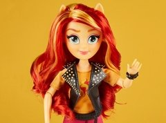 Muñeca Sunset Shimmer Equestria Girls My Little Pony - comprar online