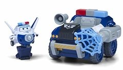 Vehículo transformable Super Wings Paul's police patroller. US730840 - comprar online