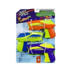Pistolas de Agua Flood Force styker Pack X 3