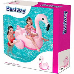 Flamenco Inflable Rosa  Bestway
