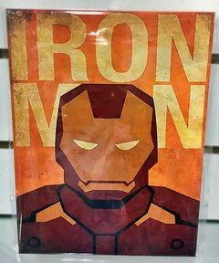 Placa Decorativa IRON MAN - comprar online