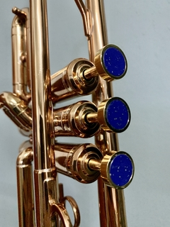 Finger Buttons Dark Blue for Trumpet - buy online