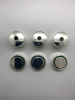 Kit Heavy Caps Silver Plated - Padovani Music