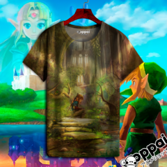 Remera The Legend Of Zelda 10