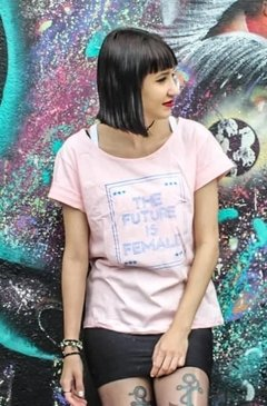 T-shirt The Future is Female Banner