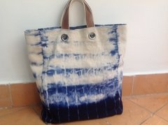 Bolsa Tote Blue and White - comprar online