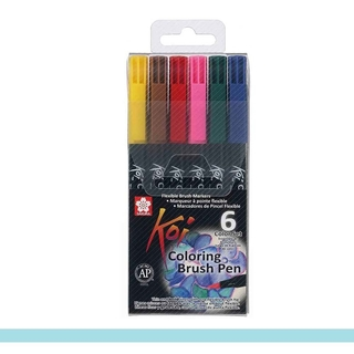 Caneta Pincel Sakura Koi Coloring Brush Pen -