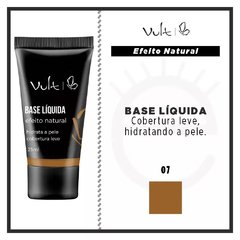 BASE LÍQUIDA VULT EFEITO NATURAL - COR 07 - 25ml na internet