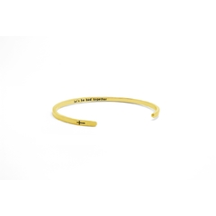 Bracelete Let's be bad together - comprar online