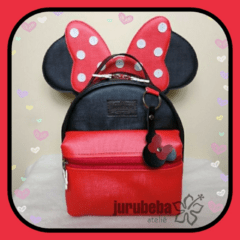 Mini mochila minnie versátil