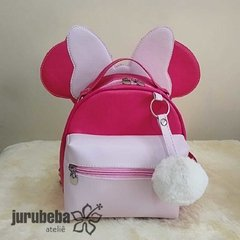 Mini mochila minnie na internet