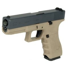 Pistola/marcadora Airsoft  Glock 17 Gen3 Tan Full Metal We - comprar online