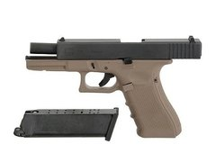 Pistola/marcadora Airsoft  Glock 17 Gen3 Tan Full Metal We - Apocalypsis Gun