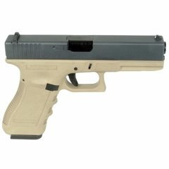 Pistola/marcadora Airsoft  Glock 17 Gen3 Tan Full Metal We en internet