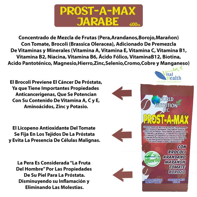 acido folico para prostata