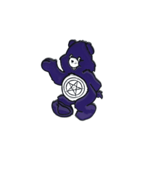 PIN - CARE BEAR GÓTICO
