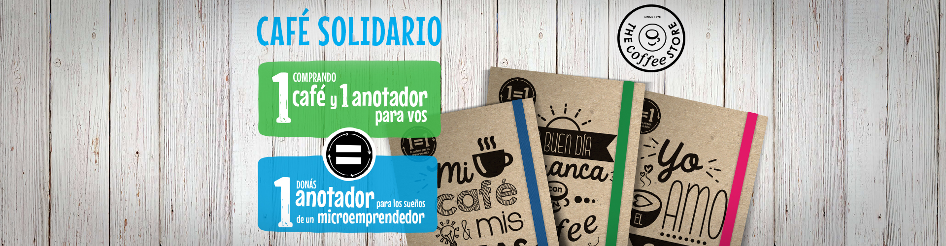 Encontrá tu café solidario en los Coffee Store de Bs. As.