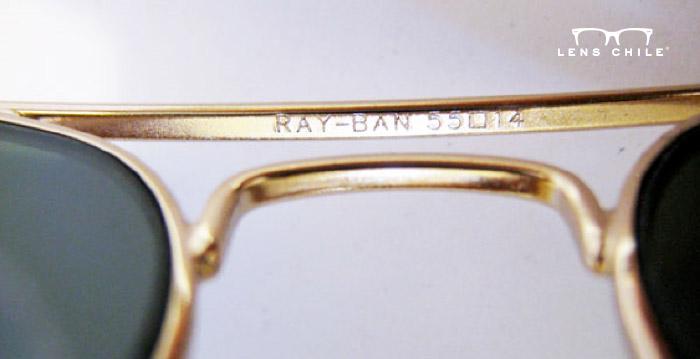 Ray-Ban Aviator RB3025 puente auténtico (parte interior) 347359384b